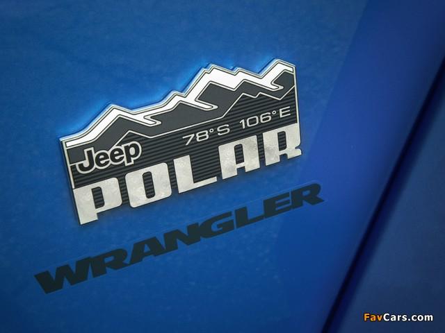 Jeep Wrangler Unlimited Polar (JK) 2014 wallpapers (640 x 480)