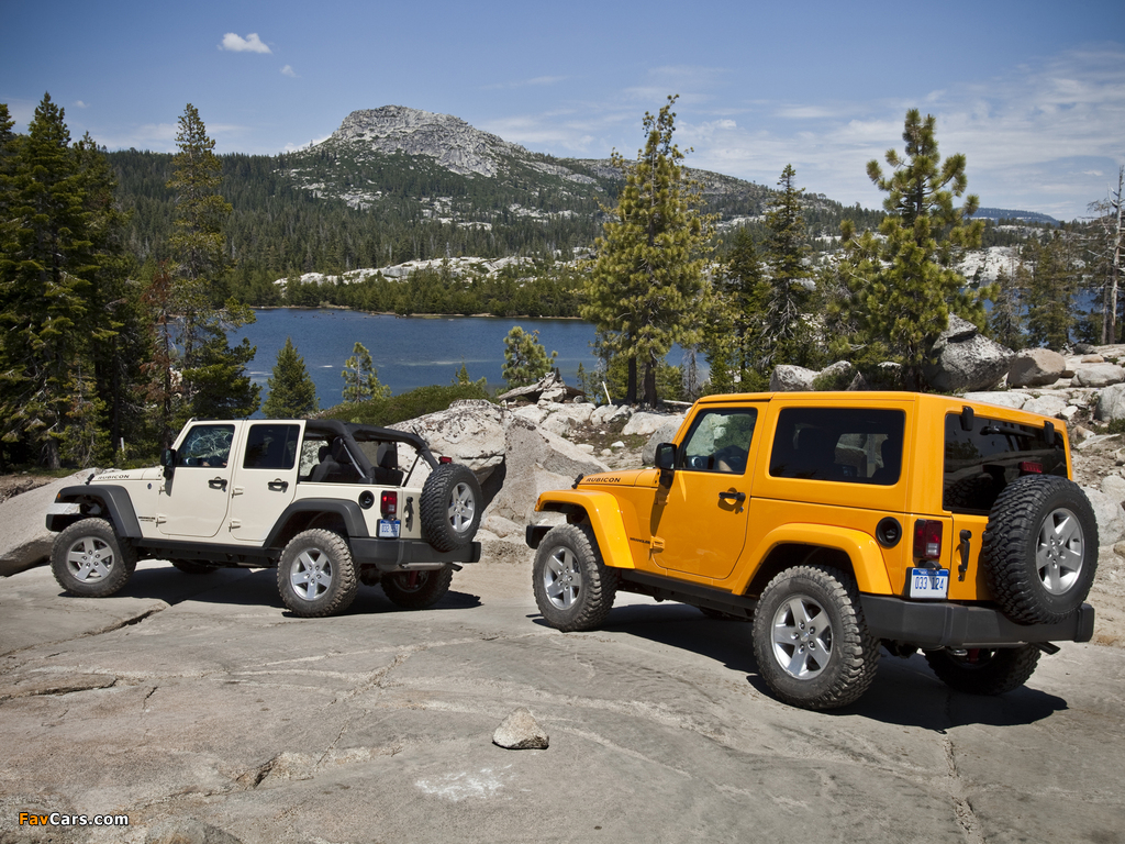 Jeep Wrangler photos (1024 x 768)