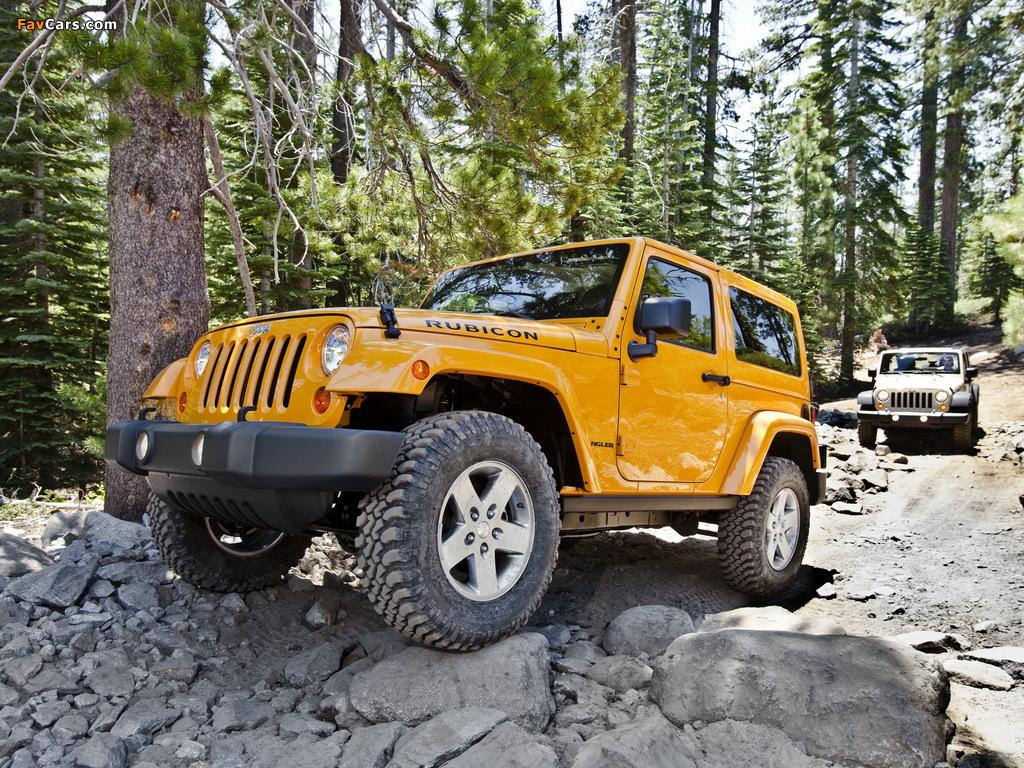 Jeep Wrangler photos (1024 x 768)
