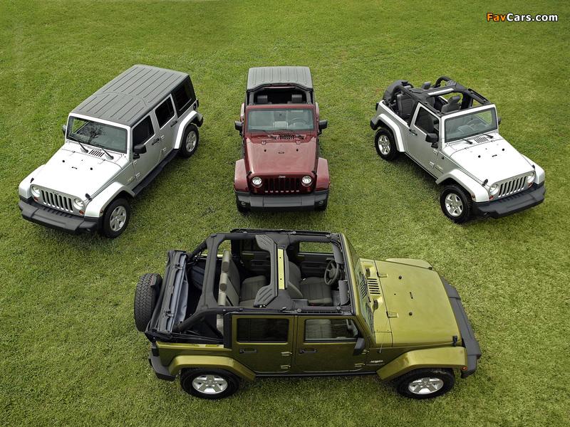 Jeep Wrangler pictures (800 x 600)