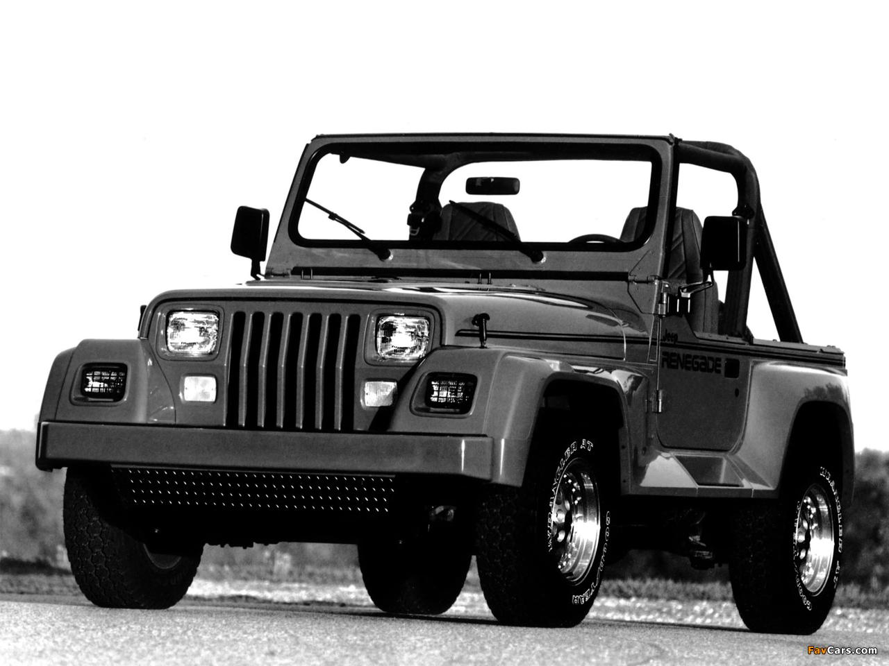 Photos of Jeep Wrangler Renegade (YJ) 1991–94 (1280 x 960)