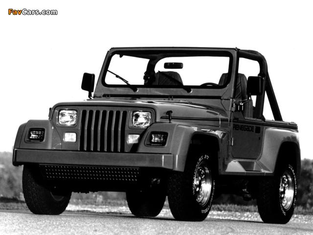 Photos of Jeep Wrangler Renegade (YJ) 1991–94 (640 x 480)
