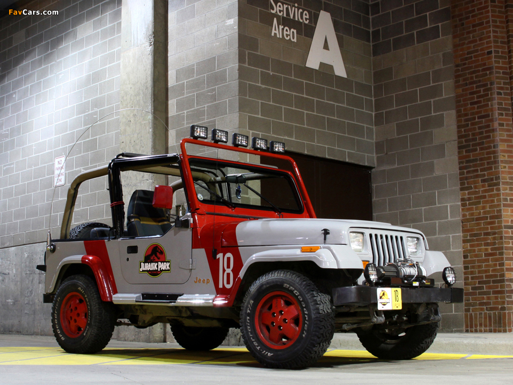 Photos of Jeep Wrangler Jurassic Park (YJ) 1993 (1024 x 768)