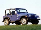 Photos of Jeep Wrangler Sport (TJ) 1997–2006