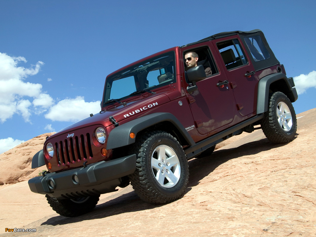 Photos of Jeep Wrangler Unlimited Rubicon (JK) 2006–10 (1024 x 768)