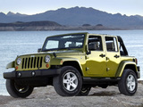 Photos of Jeep Wrangler Unlimited Sahara (JK) 2006–10