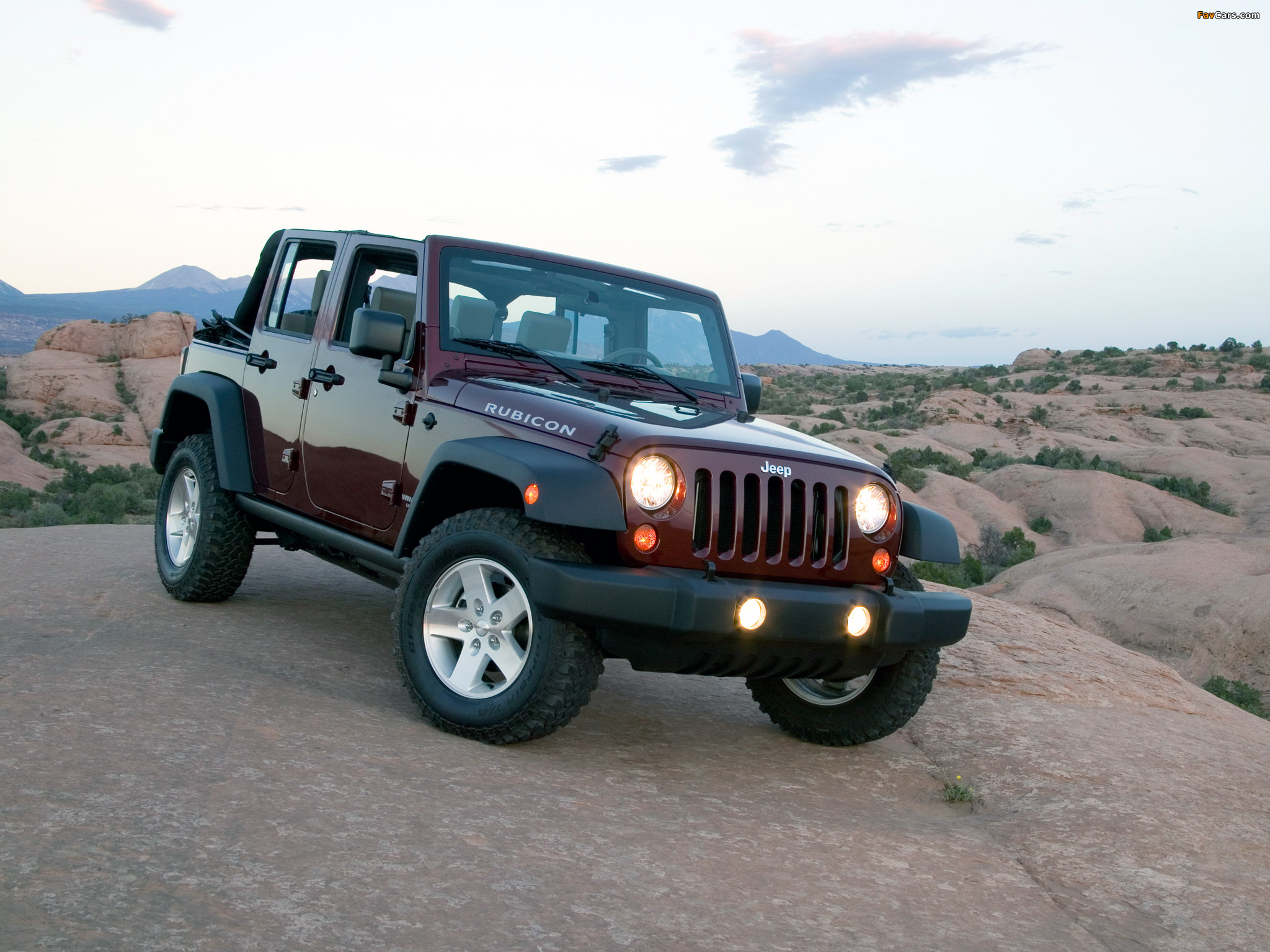 Photos of Jeep Wrangler Unlimited Rubicon (JK) 2006–10 (2048 x 1536)