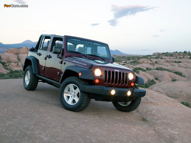Photos of Jeep Wrangler Unlimited Rubicon (JK) 2006–10 (800 x 600)