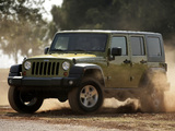 Photos of Jeep Wrangler Unlimited Rubicon EU-spec (JK) 2007