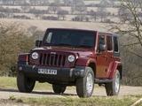 Photos of Jeep Wrangler Unlimited Sahara UK-spec (JK) 2007–11