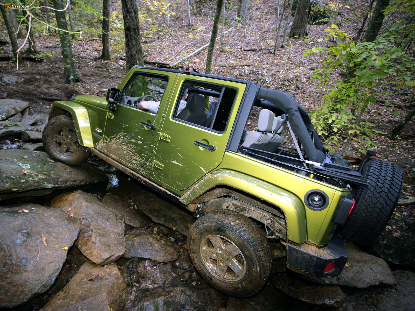 Photos of Jeep Wrangler Unlimited Sahara EU-spec (JK) 2007 (1600 x 1200)