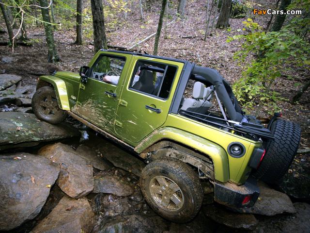 Photos of Jeep Wrangler Unlimited Sahara EU-spec (JK) 2007 (640 x 480)