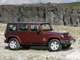 Photos of Jeep Wrangler Unlimited Sahara UK-spec (JK) 2007–11