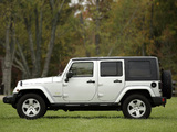 Photos of Jeep Wrangler Unlimited Sahara EU-spec (JK) 2007