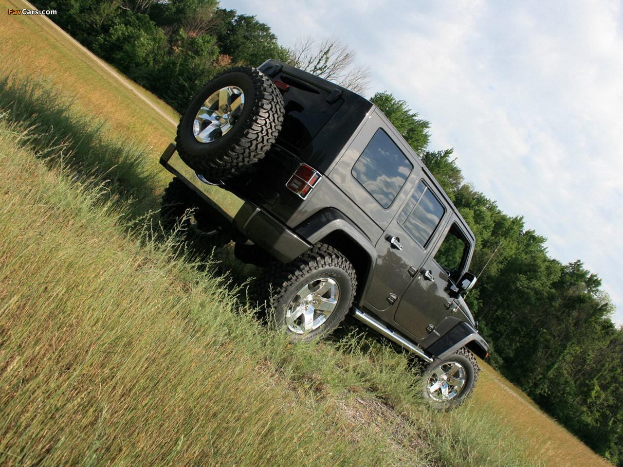 Photos of Mopar Jeep Wrangler Ultimate (JK) 2007 (1280 x 960)
