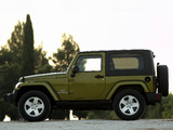 Photos of Jeep Wrangler Sahara (JK) 2007