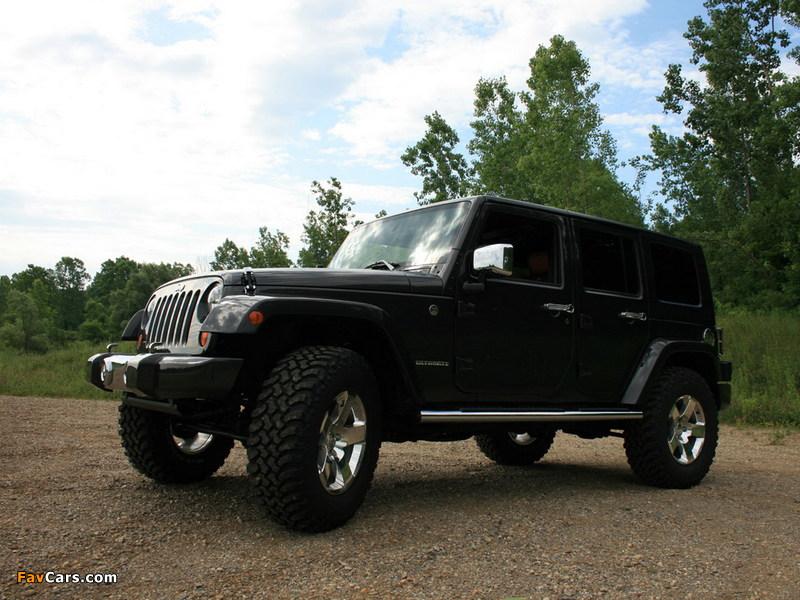 Photos of Mopar Jeep Wrangler Ultimate (JK) 2007 (800 x 600)