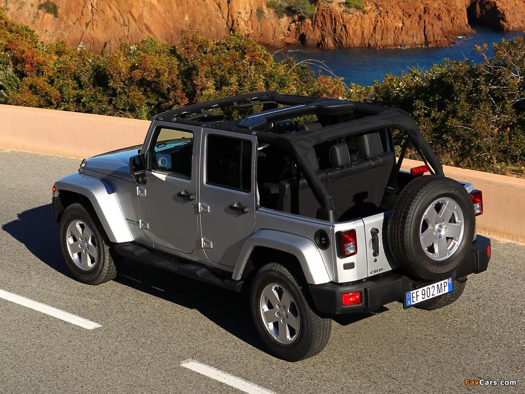 Photos of Jeep Wrangler Sahara Unlimited (JK) 2011 (1024 x 768)