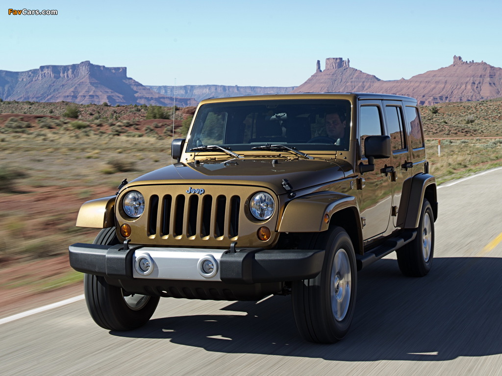 Photos of Jeep Wrangler Unlimited 70th Anniversary (JK) 2011 (1024 x 768)