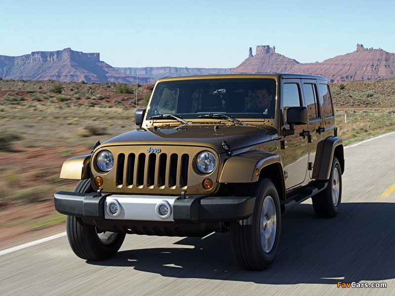 Photos of Jeep Wrangler Unlimited 70th Anniversary (JK) 2011 (800 x 600)