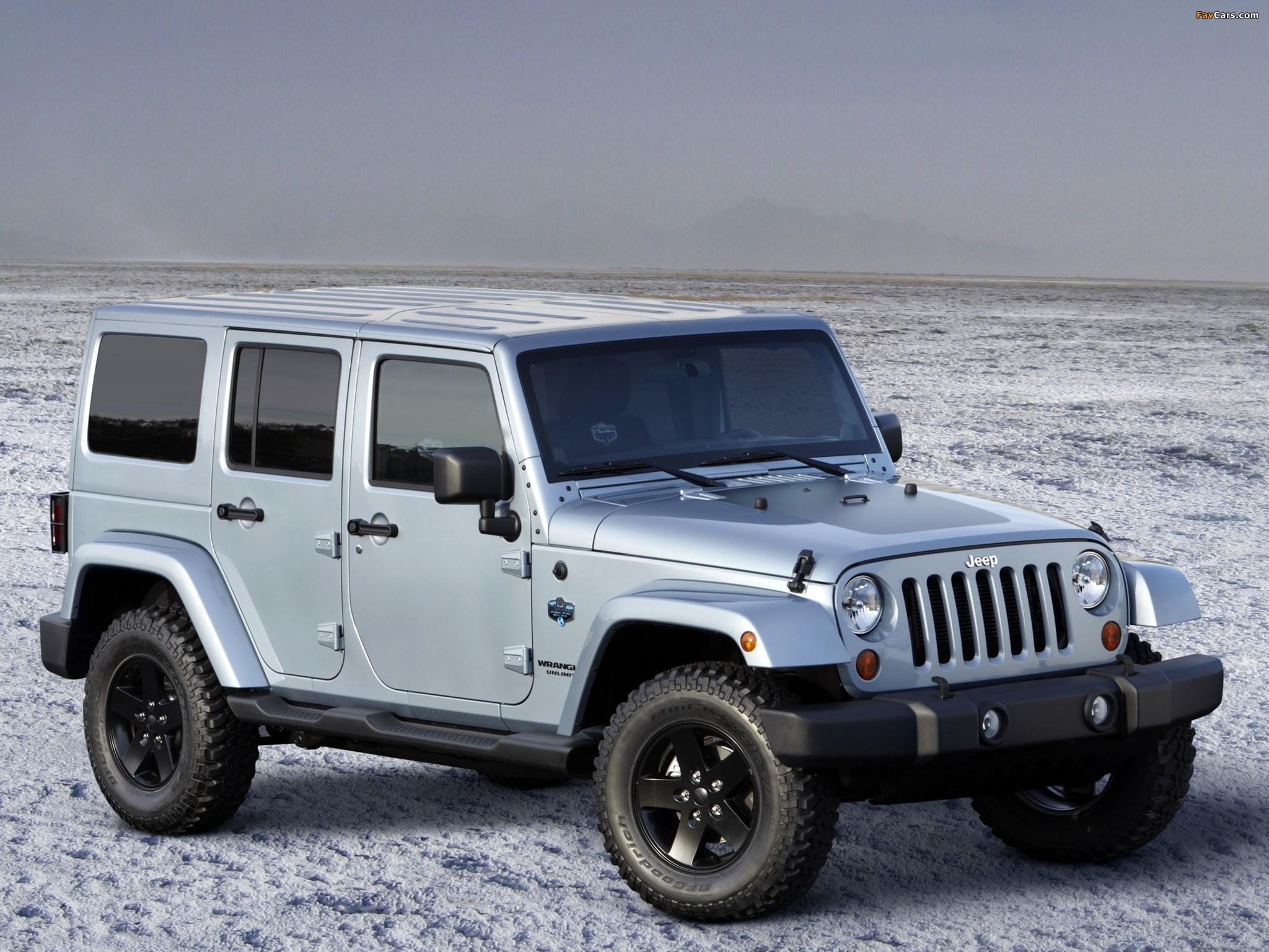 Photos of Jeep Wrangler Unlimited Arctic (JK) 2012 (2048 x 1536)