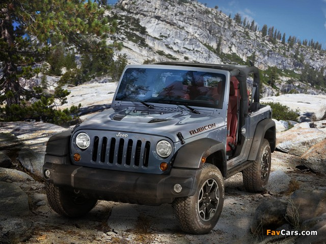 Photos of Jeep Wrangler Rubicon 10th Anniversary EU-spec (JK) 2013 (640 x 480)