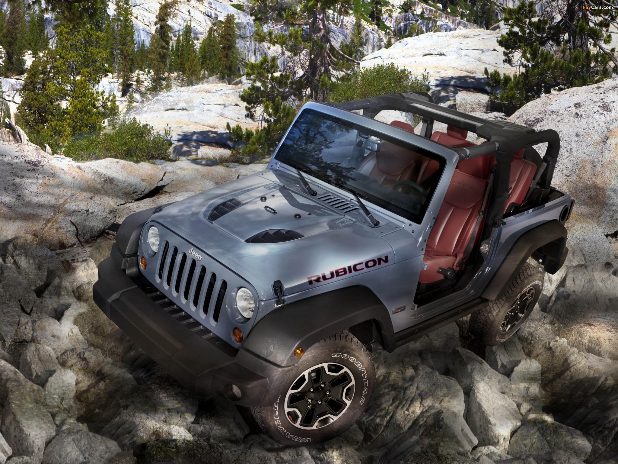 Photos of Jeep Wrangler Rubicon 10th Anniversary EU-spec (JK) 2013 (2048 x 1536)