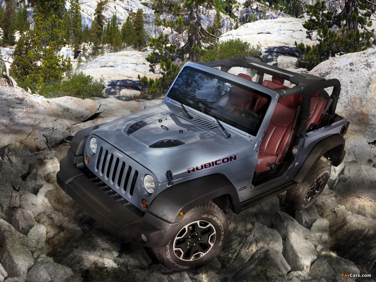 Photos of Jeep Wrangler Rubicon 10th Anniversary EU-spec (JK) 2013 (1280 x 960)