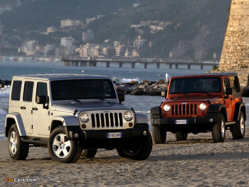 Photos of Jeep Wrangler (800 x 600)