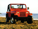 Pictures of Jeep Wrangler (YJ) 1987–95