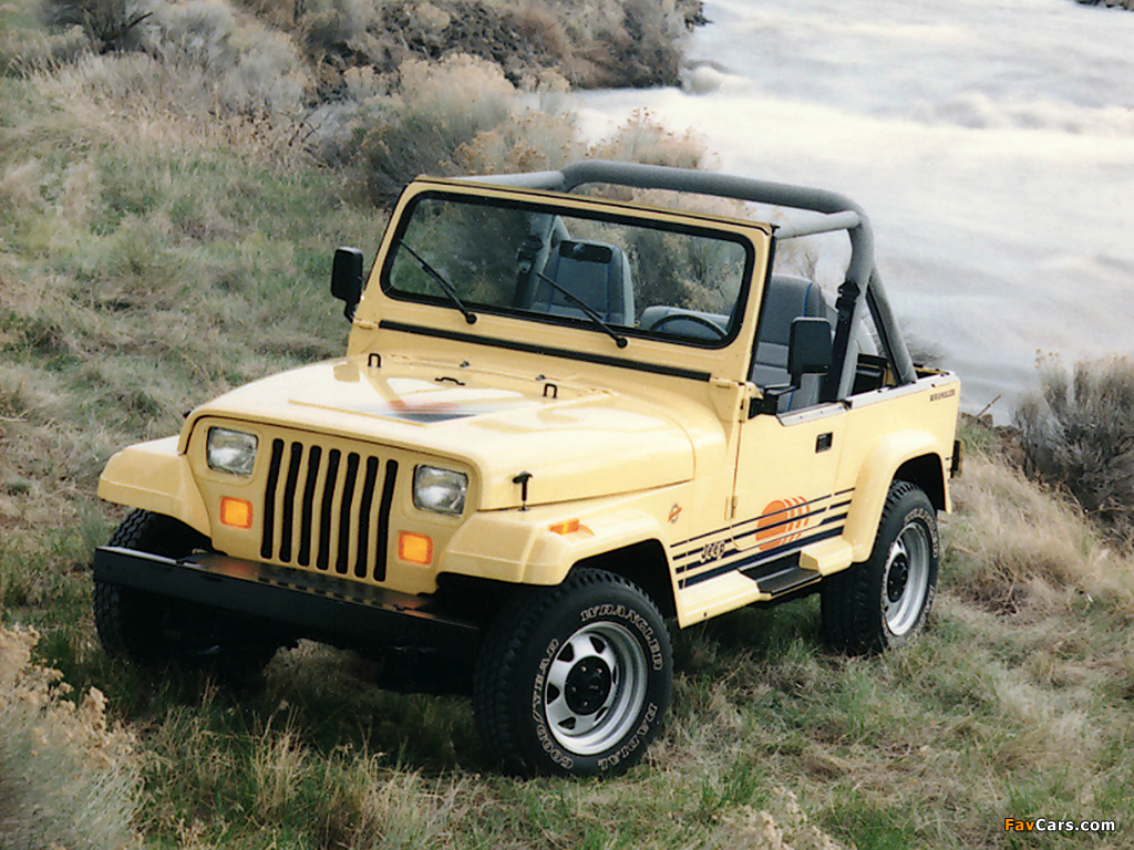 Pictures of Jeep Wrangler Islander (YJ) 1988–93 (1024 x 768)