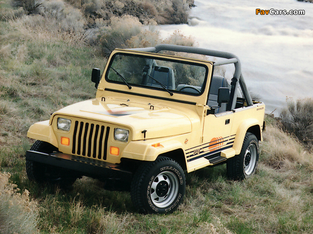 Pictures of Jeep Wrangler Islander (YJ) 1988–93 (640 x 480)