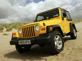 Pictures of Jeep Wrangler Sport UK-spec (TJ) 1997–2006
