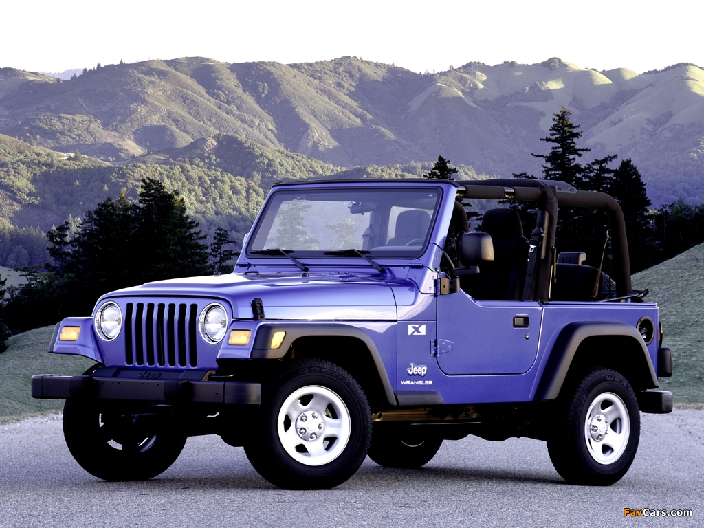 Pictures of Jeep Wrangler (TJ) 1997–2006 (1024 x 768)