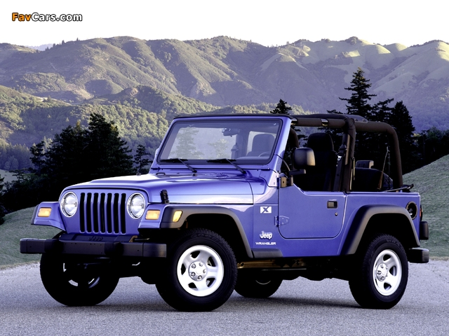 Pictures of Jeep Wrangler (TJ) 1997–2006 (640 x 480)