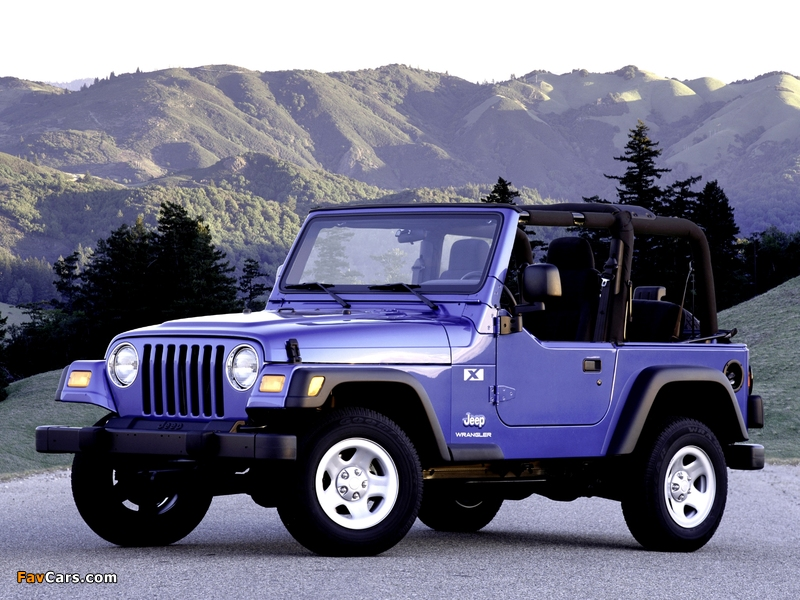 Pictures of Jeep Wrangler (TJ) 1997–2006 (800 x 600)