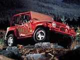 Pictures of Jeep Wrangler Tabasco Concept (TJ) 1997