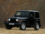 Pictures of Jeep Wrangler Sahara UK-spec (TJ) 2002–06