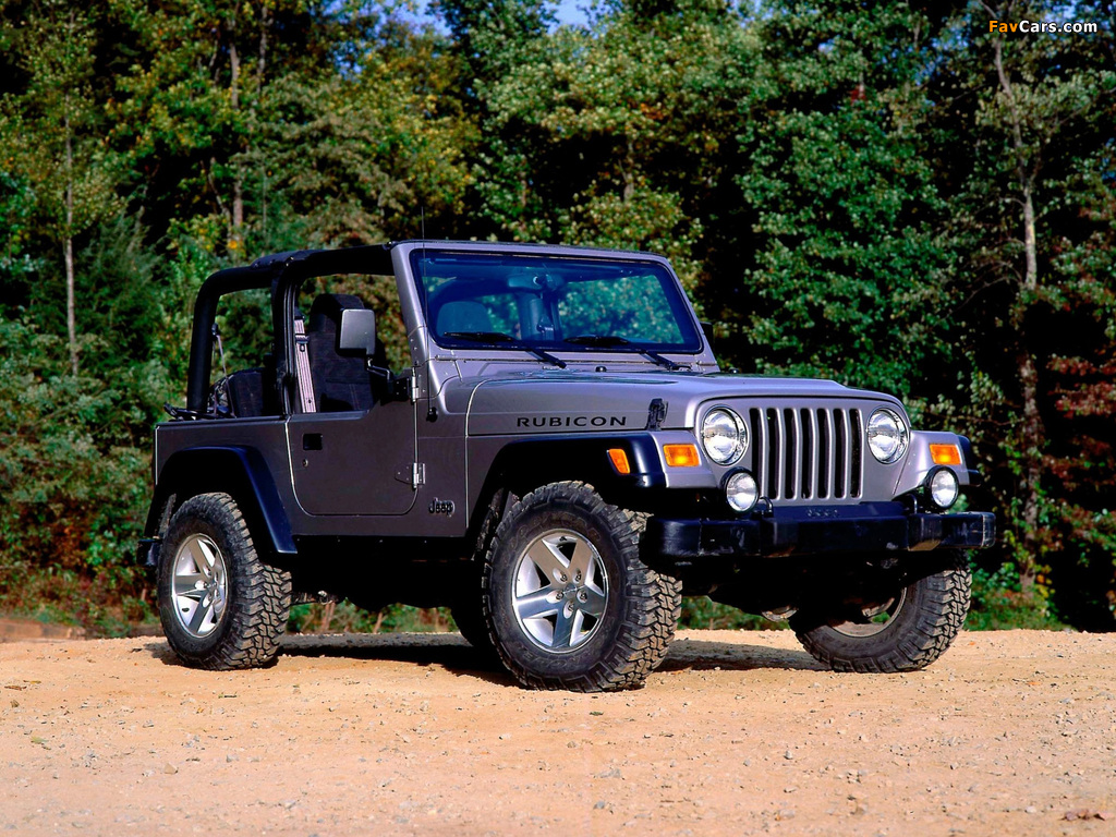 Pictures of Jeep Wrangler Rubicon (TJ) 2002–06 (1024 x 768)
