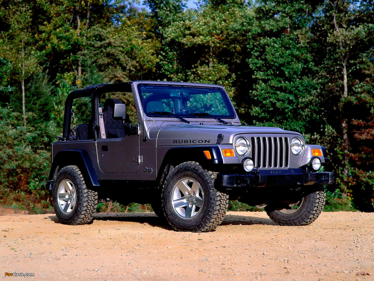 Pictures of Jeep Wrangler Rubicon (TJ) 2002–06 (1280 x 960)