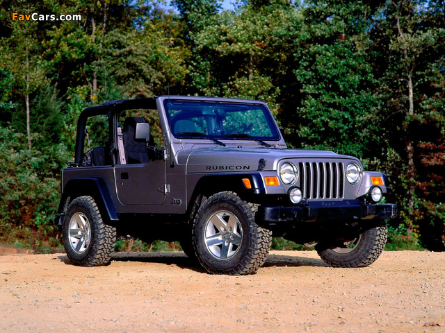 Pictures of Jeep Wrangler Rubicon (TJ) 2002–06 (640 x 480)
