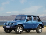 Pictures of Jeep Wrangler Unlimited Sahara (JK) 2006–10