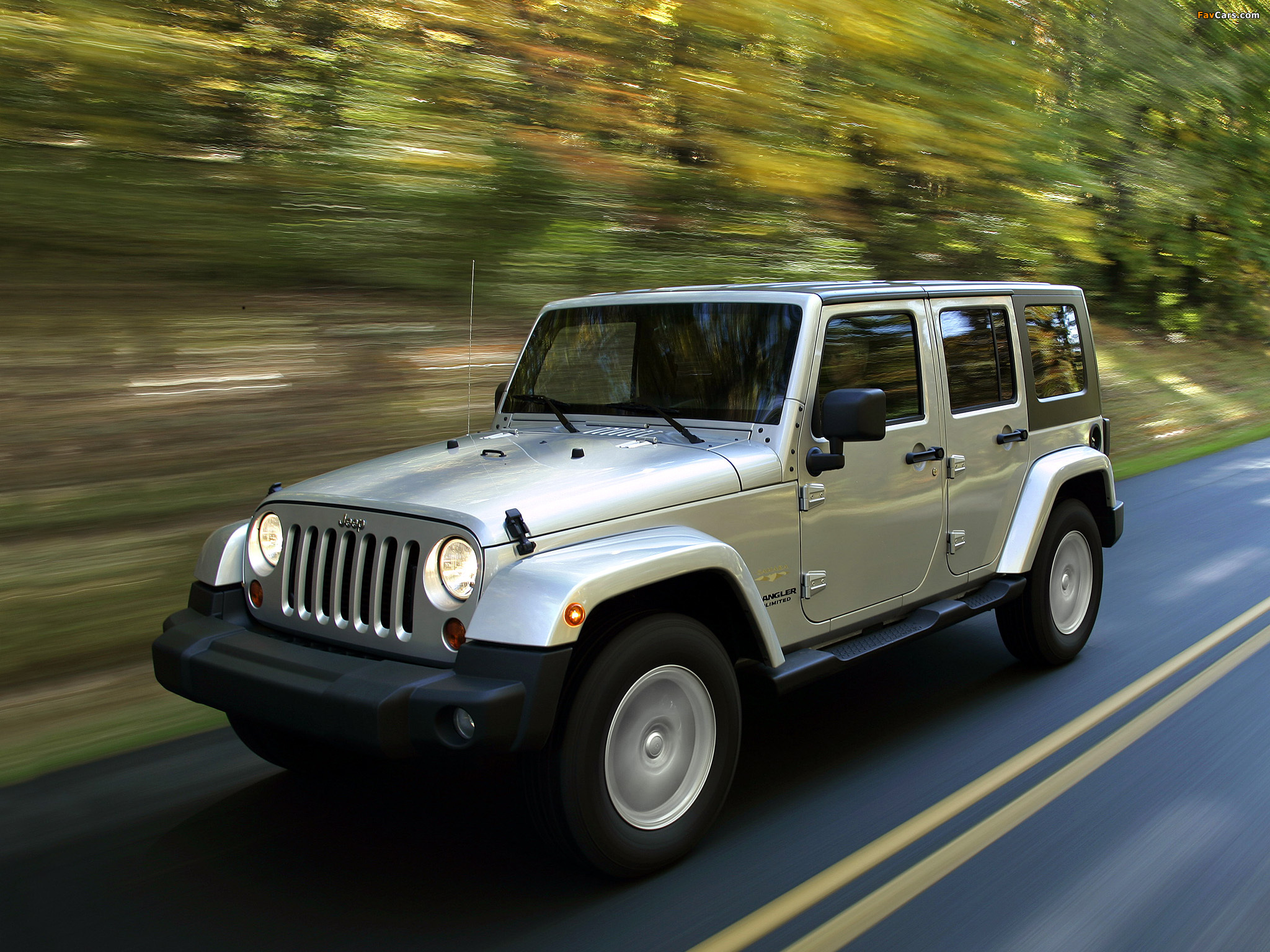 Pictures of Jeep Wrangler Unlimited Sahara EU-spec (JK) 2007 (2048 x 1536)