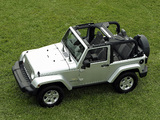 Pictures of Jeep Wrangler Sahara (JK) 2007