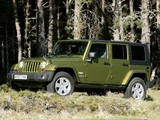 Pictures of Jeep Wrangler Unlimited Sahara UK-spec (JK) 2007–11