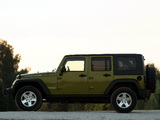 Pictures of Jeep Wrangler Unlimited Rubicon EU-spec (JK) 2007
