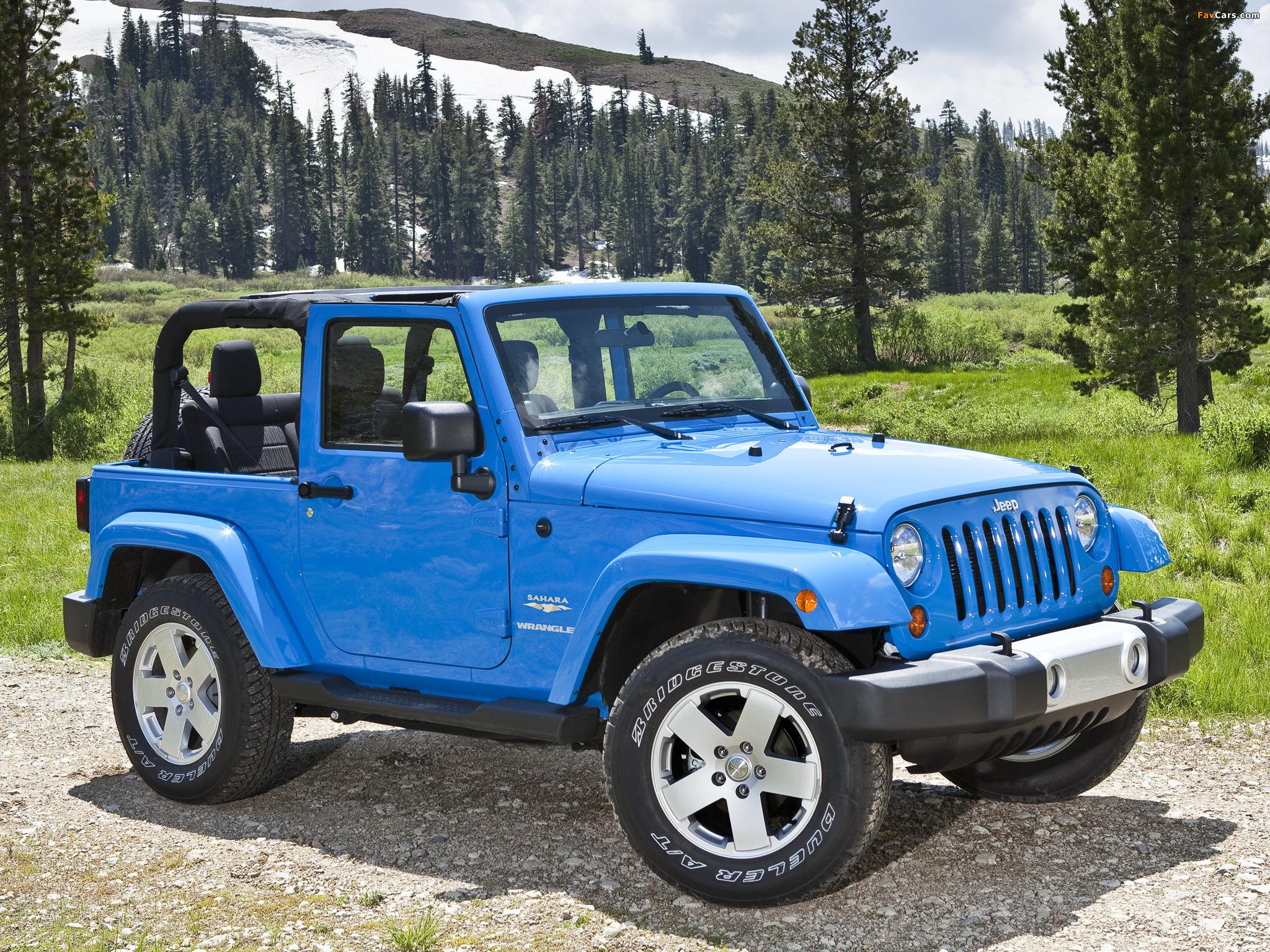 Pictures of Jeep Wrangler Sahara (JK) 2007 (2048 x 1536)