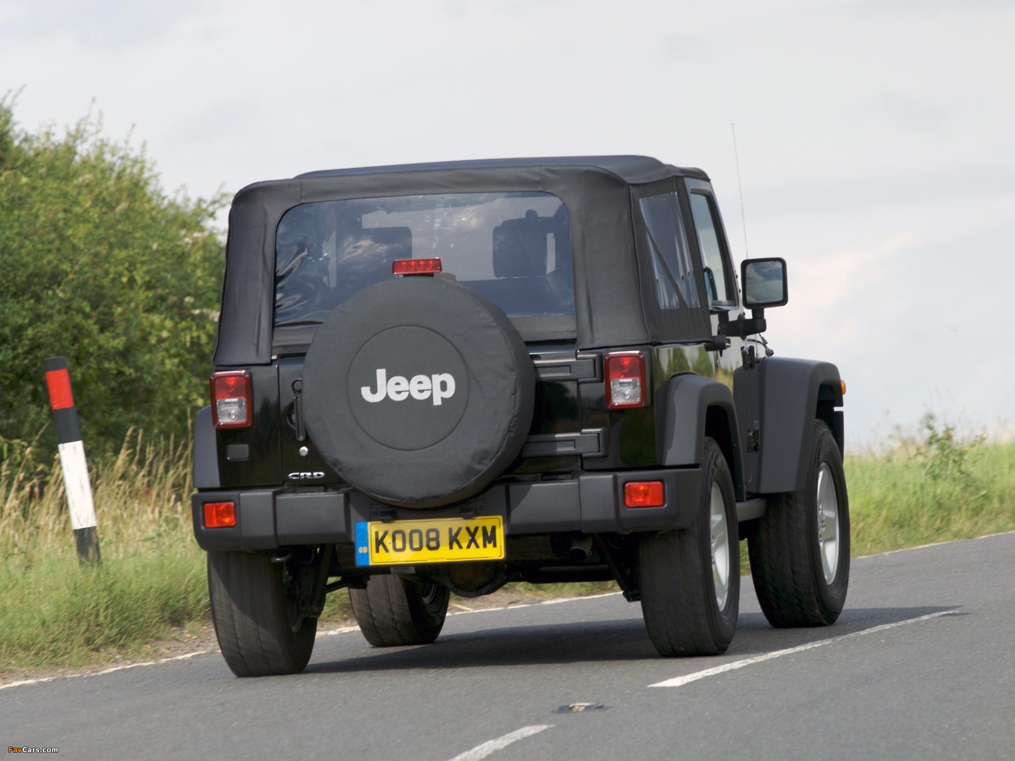 Pictures of Jeep Wrangler Sport UK-spec (JK) 2007 (2048 x 1536)