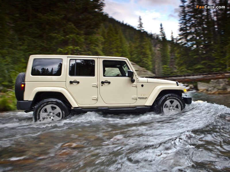Pictures of Jeep Wrangler Unlimited Sahara (JK) 2010 (800 x 600)