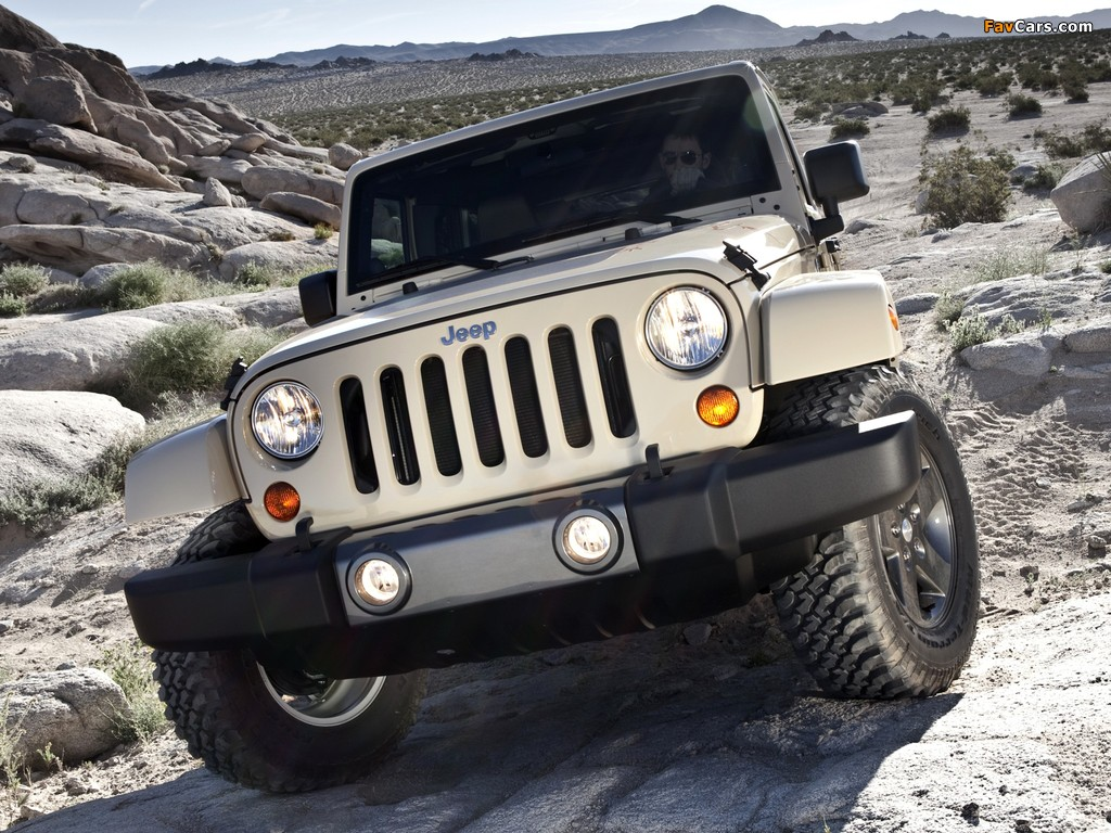 Pictures of Jeep Wrangler Unlimited Mojave (JK) 2011 (1024 x 768)